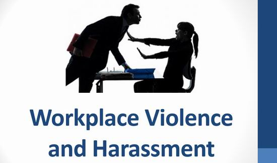 Workplace Violence and Harassment