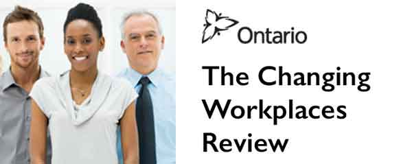 changing workplace review